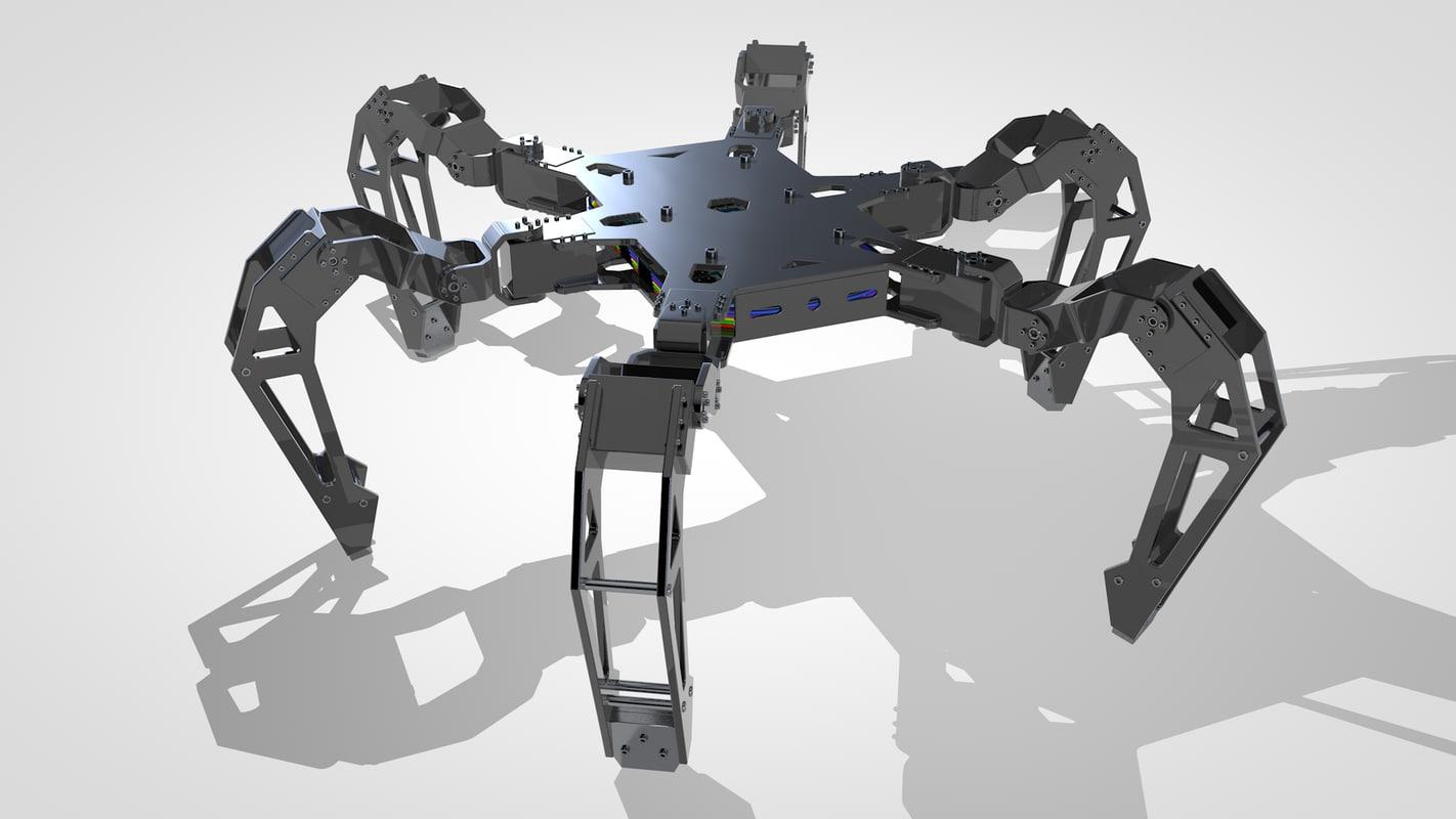 c4d hexapod concept