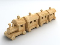 Wooden Toy Train 1