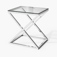 3d eichholtz table criss cross model