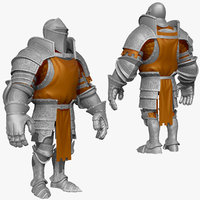 3d sculpt knight k1 series model