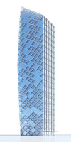 contemporary skyscraper 3d max