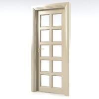 3d room door