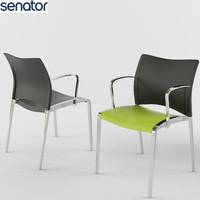 office chair senator aura 3d max