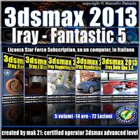 3ds max 2013 iray fantastic 5_Subscription