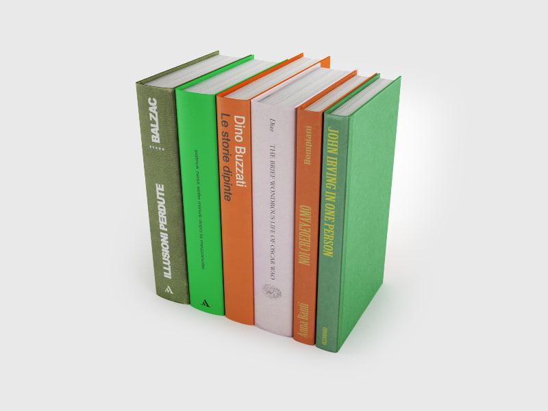 3d model book 16 7