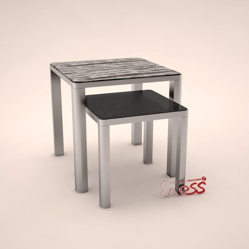 table aston 50 smania 3d model
