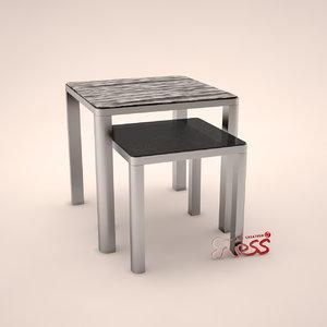 table aston 50 smania 3d model
