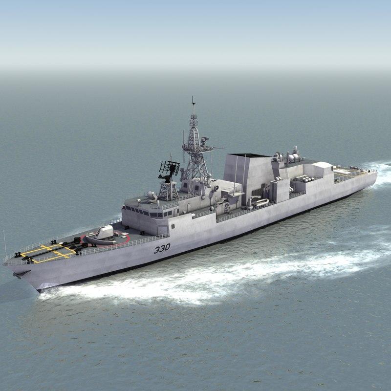 halifax class ffh330 dwg