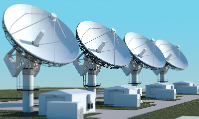 3d model radiotelescope array
