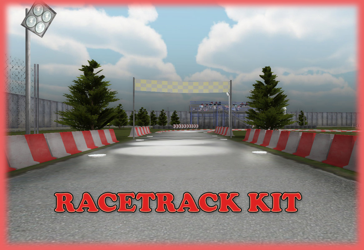 racetrack kit race track 3d x