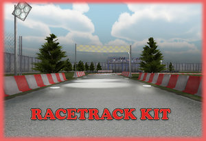 racetrack kit race track 3d x