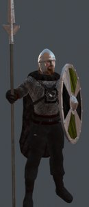 3dsmax viking warrior