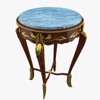Classical Antiquarian Round Little Table