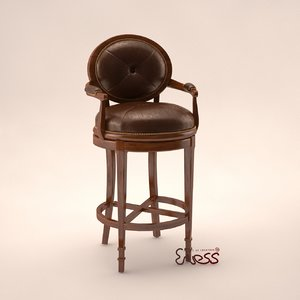 bar stool theodore alexander obj