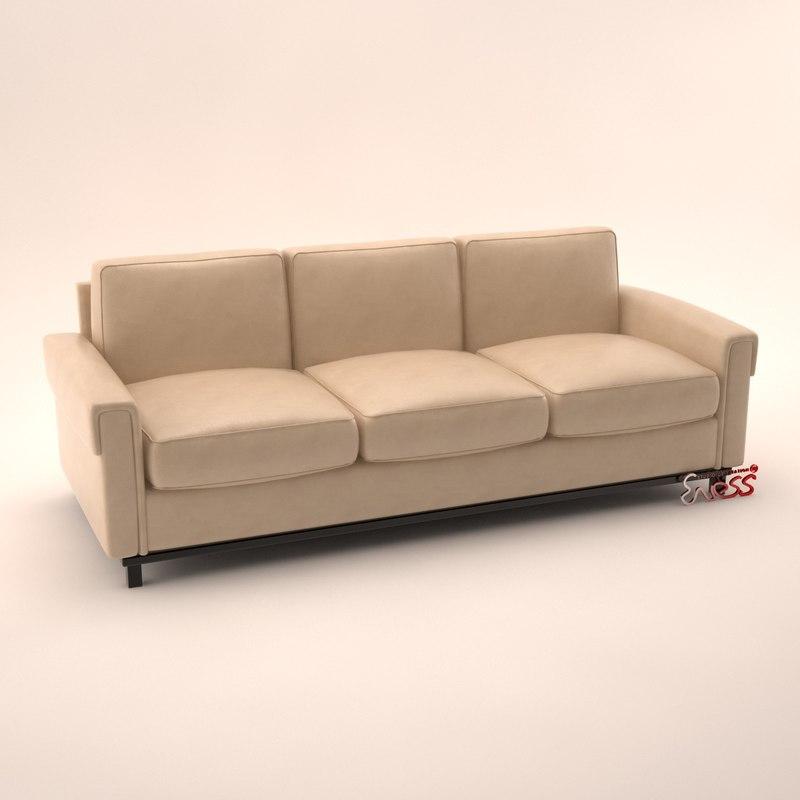 3d model of sofa 2741 arudin