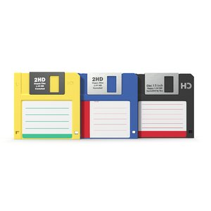 floppy disc 3 3d 3ds