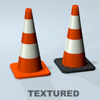Traffic Cone Textured