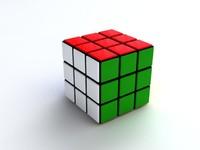 3d max rubik s cube