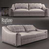 rugiano golden sofa 3d max