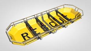 3d stretcher rescue