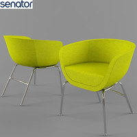 office chair senator karma 3d model