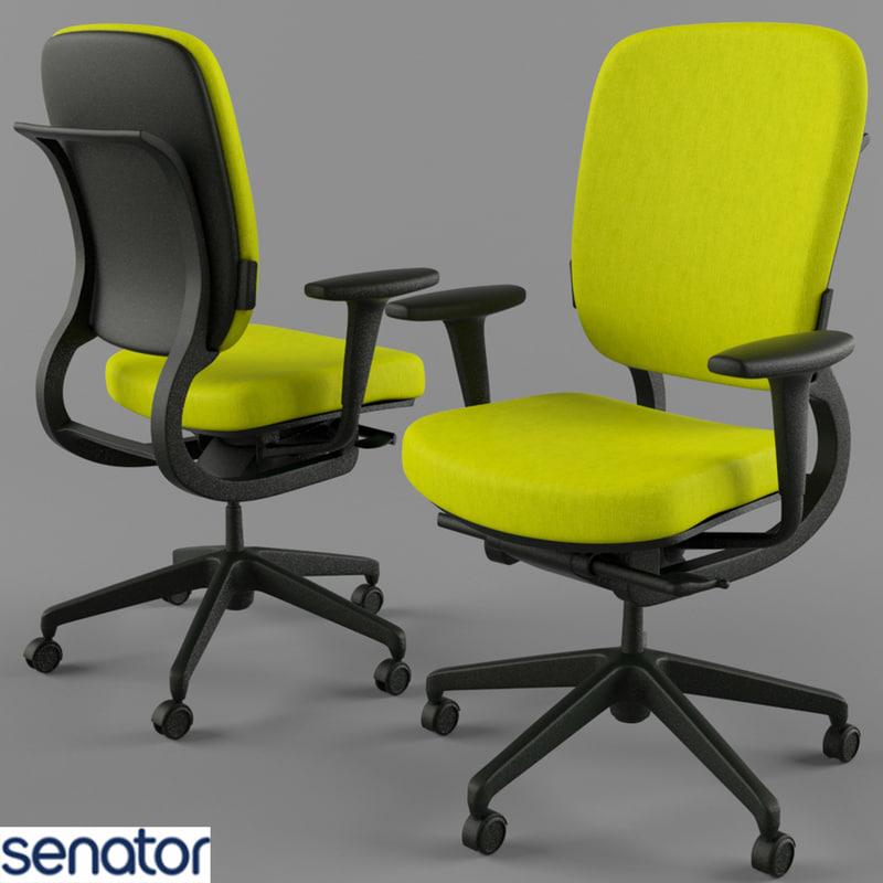 max office chair senator strol