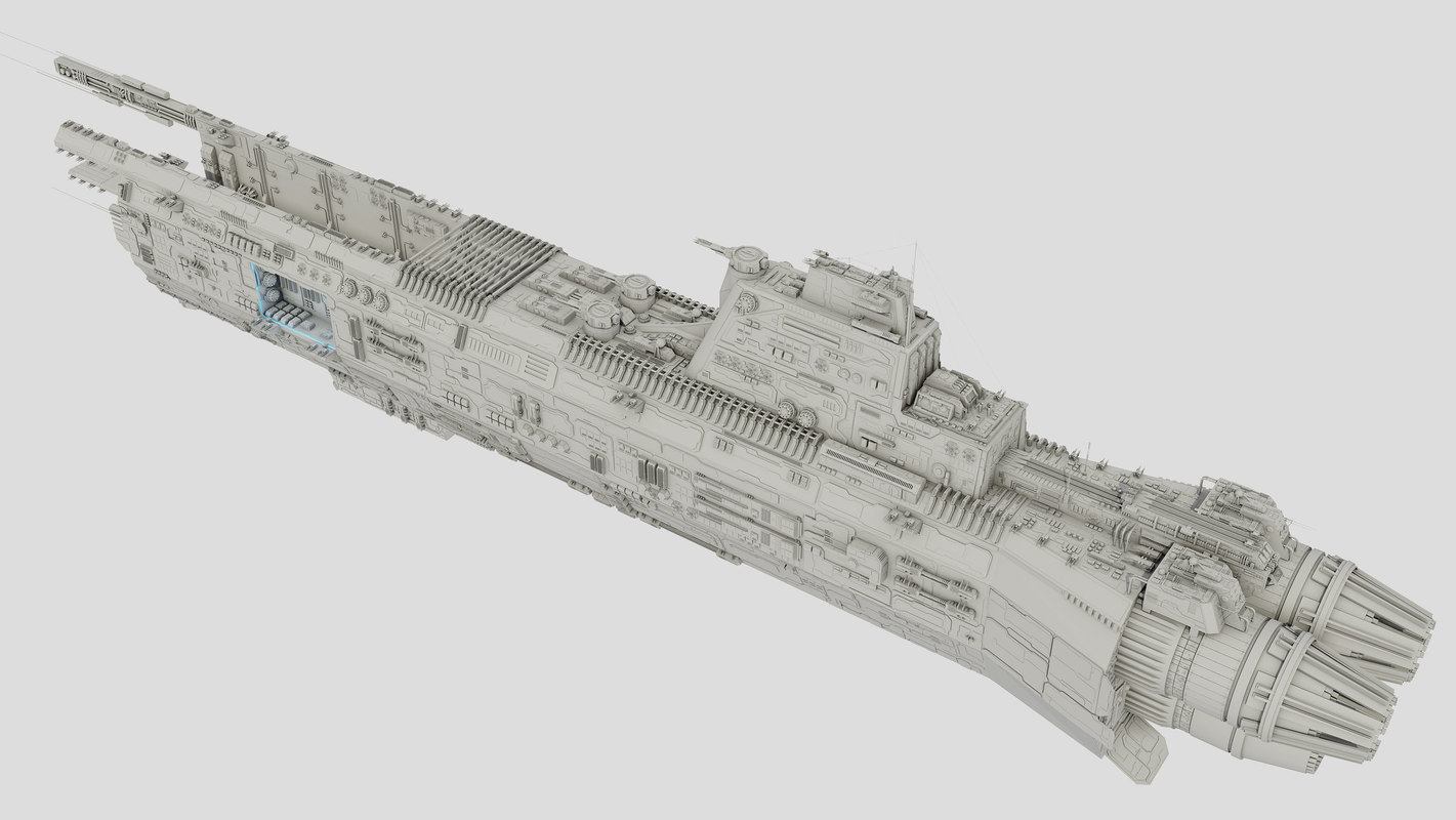 3d space carrier saratoga class