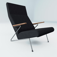 3d rare koene oberman lounge chairs
