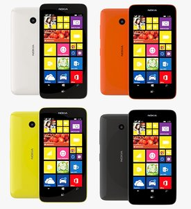 nokia lumia 638 color 3d dxf