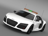 3d max audi r8 v10plus safety