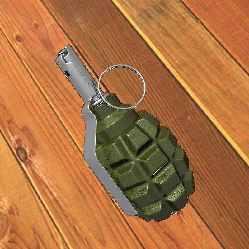 f1 grenade max