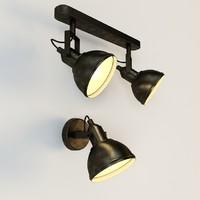 3d model arte lamp martin