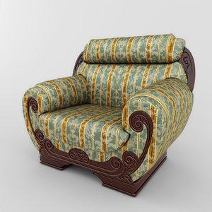 classic chair 01 max