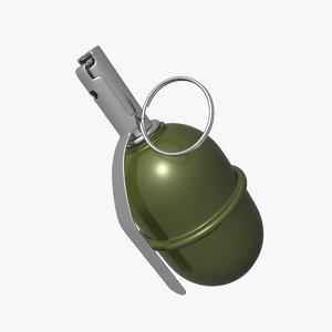 3d rgd-5 grenade