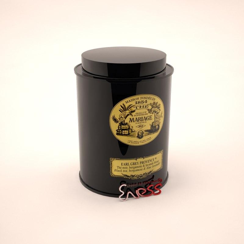 3d tea box a9205 mariage