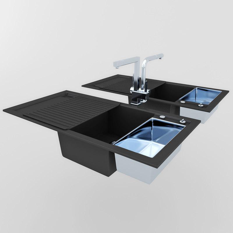 3d sink blanco gessi13193 oxygene