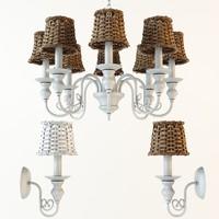 3d model arte lamp villaggio