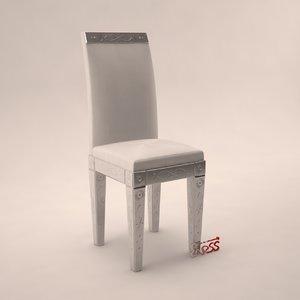 3d chair 2590 art veneziana