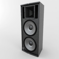 electrovoice pro speakers 01 3d model