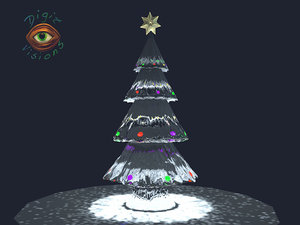 tree ice 3d model