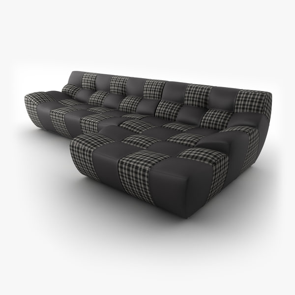 new look bronx 2 seater 3d max