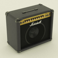 Guitar Amplifier Marshall_001