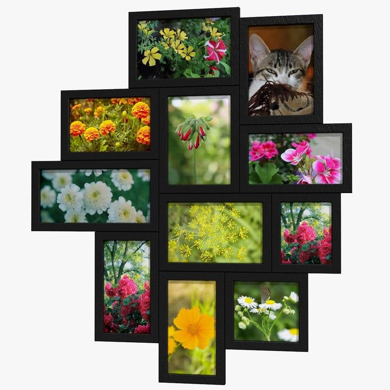 3d photo frames model