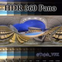 HDR 360 Pano Olympic Maria Lenk Aquatic Stadium01