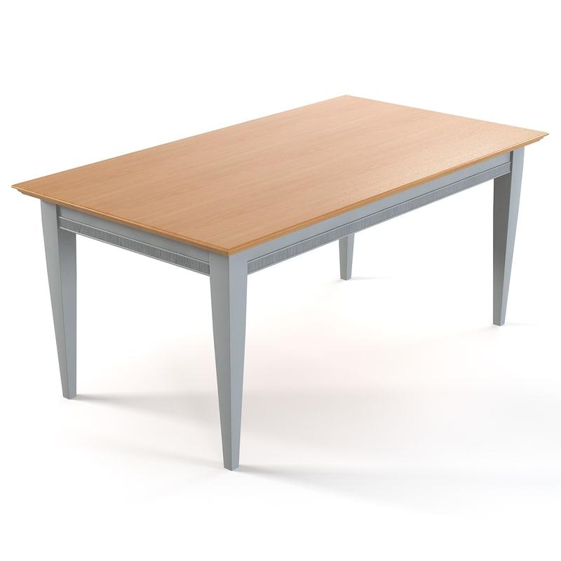 3d model tosato desideri table