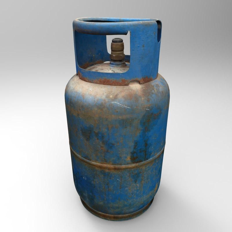 realistic gas bottle max