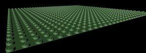 3d model realistic lego base x