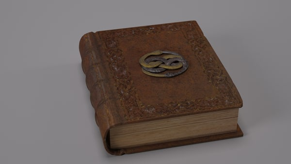old book 3d max