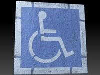 scan handicap parking obj