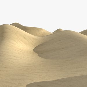 3d sand dune 3 colors
